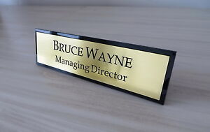 High Quality Desk Name, Custom Engraved Sign, Name Plaque, Office