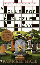 A Clue for the Puzzle Lady by Parnell Hall Small Town Murder Mystery