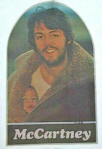 PAUL McCARTNEY T-SHIRT IRON-ON VINTAGE MENS WOMEN 70s REAL HEAT TRANSFER BEATLES