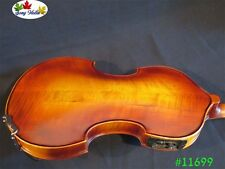 hand made Baroque style electric Electronic violin 4/4 +Acoustic violin #11699
