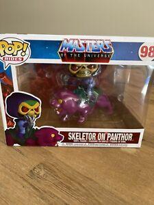 POP! Vinyl - Masters of the Universe - Skeletor on Panthor Pop! Ride
