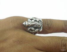 sterling silver Ring lord ganesha ring good luck ring hindu god ganesh ji