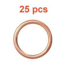 (25) MARLI 20 mm Crushable Copper OIL DRAIN PLUG Gaskets M20 fits CHEVY SUBARU