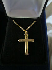 inspirational cross necklace