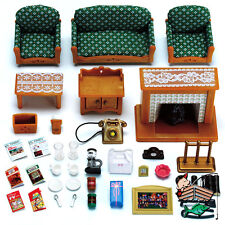 Calico Critters - Deluxe Living Room Furniture Set - CC2263