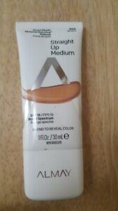 Almay 300 Moyen - Smart Shade Skintone Matching Foundation STRAIGHT MEDIUM- 1 oz