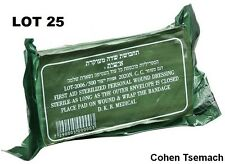LOT OF 25 sealed IDF Trauma Bandage Field Emergency IFAK Israeli Army
