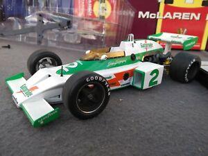 McLaren M16 Carousel 1:18 1975 Indy 500  Johnny Rutherford Gatorade