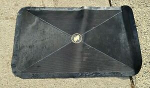 1961-1976 Buick Trunk Mat | Black with Tri-Shield. OEM, not reproduction