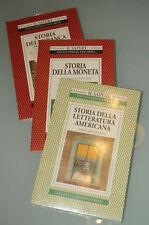 (PRL) STORIA DELLA LETTERATURA AMERICANA MONETA BANCA BOOKS 3 LIBRI LIVRES BOOK