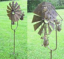 éolienne Chats CARROUSEL métal 1,35m Haut Décoration de jardin NEUF