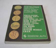 CATALOGO UNIFICATO DELLE MONETE ITALIANE   -   1987 EDIZIONI ALFA