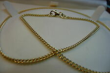 Ola Gorie 9ct Yellow Gold 375 Heavy Curb Chain large delux Box
