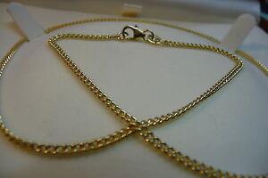 "Ola Gorie 9ct Yellow Gold Curb Chain 18"" 6.0g"