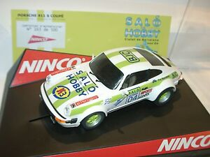 stqq) Ninco 50354 PORSCHE 911 SC SALON HOBBY LIMITED EDITION - slot 1:32 scale-
