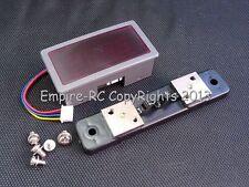 3.5 Digit Digital LED AMP Current Panel Meter (DC 5V) (10A) (Red) (w/SHUNT)