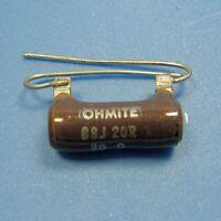 Clarostat 20 Ohm 5W 5% Wirewound Power Resistor Axial Wire Lead Ceramic Case NEW