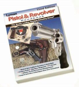 9816500 LYMAN PISTOL & REVOLVER HANDBOOK - 3RD EDITION - NEW - FREE SHIP