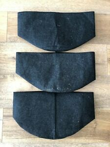 3 pack Hydroponic Grow Bags Smart Pot Garden Aeration Plant Fabric Container