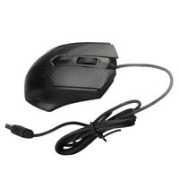 High Speed 3-Button Corded Mouse USB Gaming Mouse PC Laptops Mic