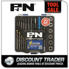 P&N All-In-One 23 Piece WorkShop Tap & Die Set + Tapping Drills - 3005025