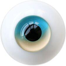 18 mm Skyblue & lemonchiffon pour bjd AOD DOD poupée dollfie yeux en verre tenue