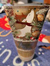 New Bath & Body Works Vanilla Bean Noel Sparkling Snowflake Scrub Wash 8 Fl.Oz