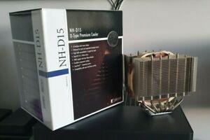 Noctua NH-D15 Premium CPU Cooler   Original Packaging   2x NF-A15 PWM Fans
