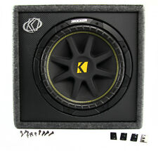 "New KICKER 10VC124 12"" 300W Loaded Car Audio Subwoofer+Sub Box Enclosure VC124"