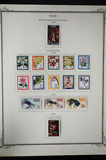 Niue 1960s to 1980s Stamp Collection