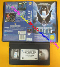VHS film LA MASCHERA DEL FANTASMA BATMAN animazione 1994 WARNER (F89) no dvd