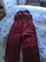 Burgundy Jumpsuit Size 12