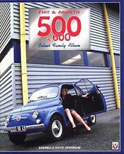 FIAT & ABARTH 500 & 600 COLOUR FAMILY ALBUM, SPARROW, NEW HARDBOUND SHIPPED FREE