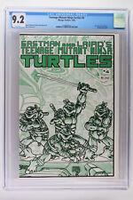 Teenage Mutant Ninja Turtles #4 - Mirage 1985 CGC 9.2 Wraparound Cover!