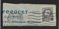 Belgium-1921 Stamp Exhibition Brussels (X1)