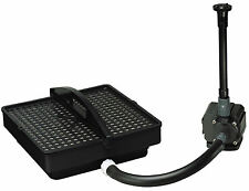 PONDMASTER 02212 Pond Fountain Pump Filter Kit 250 GPH PMK 1250 + Fountain Head