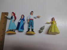 Disney The Little Mermaid ARIEL Blue Dress And Eric PVC Applause Toys + Extras