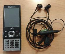 Sony Ericsson W995 - Schwarz (Ohne Simlock) Handy, defekt