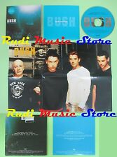 CD singolo BUSH warm machine TRAUMA RECORDS 2000 CARDSLEEVE POSTER no mc(S18)