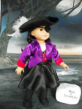 """""""Dream Big"""" by Arianna Jezebel-Pirate Gal Complete 7pc Costume 18"""" Ag Gals"""