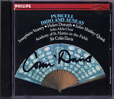 Colin Davis signed Purcell DIDO & Aeneas CD Veasey Shirley-Quirk Thomas tutti i