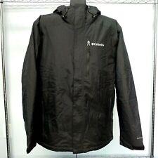 Mens Columbia Tipton Peak Insulated Black Jacket 1864451-010 2xl