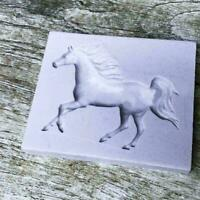 Horse Silicone Mold Fondant Mold Cake Decor Tools Chocolate NEW Mould Z9M3 I0Y5