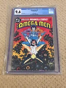 Omega Men 3 CGC 9.6 White Pages (1st app of Lobo!!) + magnet