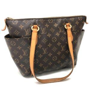AUTHENTIC LOUIS VUITTON Monogram Totally PM Tote Bag Shoulder Bag M56688