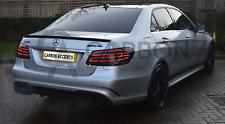 Mercedes E Class Real Carbon Fibre Fiber AMG Style Spoiler W212 Saloon 4 Door