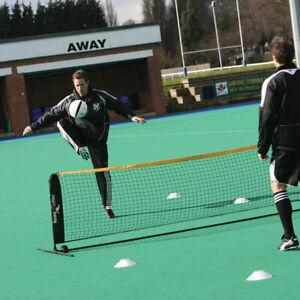 Precision Mini Indoor/Outdoor Head Tennis Set - Football Skills Training Net