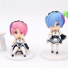 Re:Zero kara Hajimeru Isekai Seikatsu Ram&Rem 2pcs PVC Anime Figure Set No Box