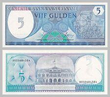 Surinam / Suriname 5 Gulden 1982 p125 unz.
