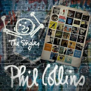 PHIL COLLINS THE SINGLES 2 CD SET (Greatest Hits) (14/10/2016)